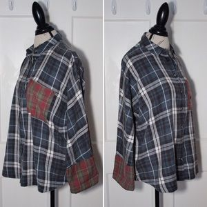 Topshop Flannel Shirt