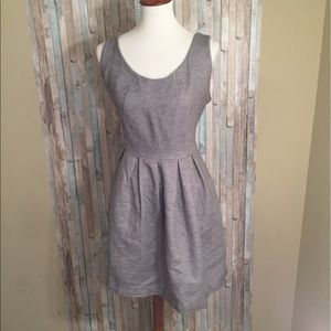 Dresses & Skirts - I heart Ronson grey pleaded Dress size 16
