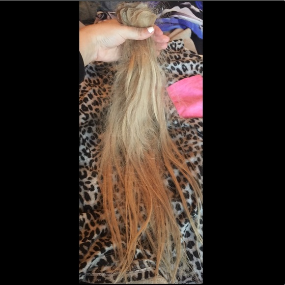 Other Babe Tape In Hair Extensions Blonde Poshmark