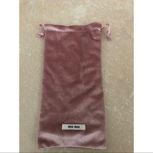 Miu Miu Accessories - Miu Miu Sunglass Dust Bag