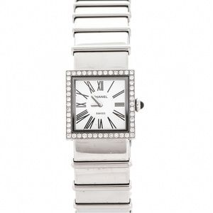 💯% Authentic Chanel Stainless Steel Diamond Watch