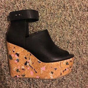 H&m wedge heels
