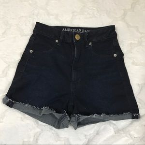 American eagle shorts super stretch high waisted