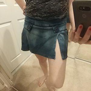 Dresses & Skirts - 4 panel denim skirt