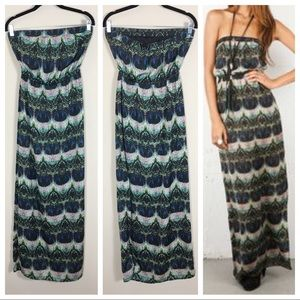 Twelfth St by Cynthia Vincent Strapless Maxi Dress