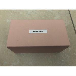 Miu Miu Accessories - Miu Miu box