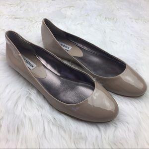 Steve Madden Shoes - Steve Madden NWOB Nude Patent Leather Ballet Flats