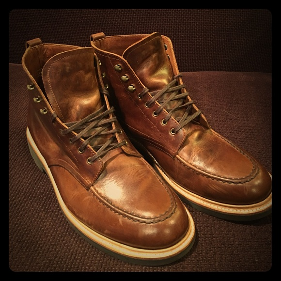 9b2f72f683a J.Crew Kenton Leather Pacer Boots. Item c8867
