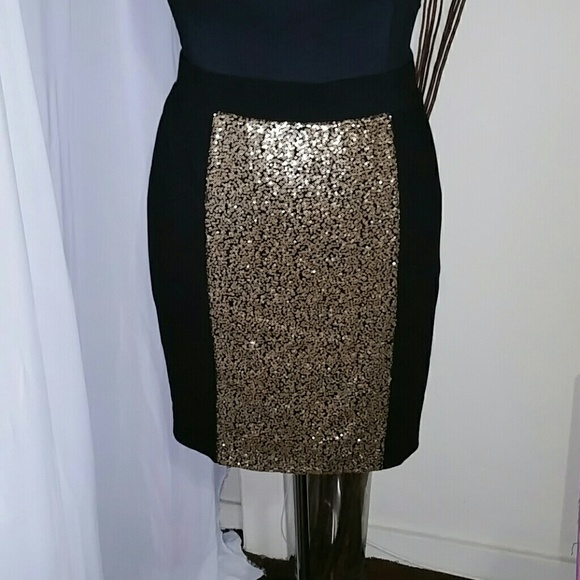 4ab11779ae419 Sequin Pencil Skirt Boutique