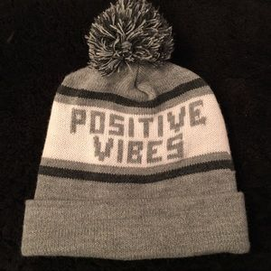 Other Accessories - Positive Vibes Beanie