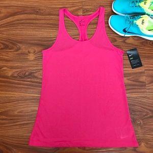 Pink Nike Women's Balance Tank Top
