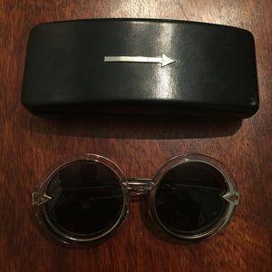 Karen Walker Accessories - Karen Walker Clear Orbit Sunglasses