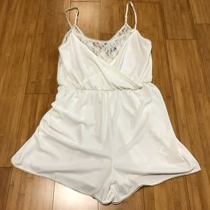 Divided Pants - H&M Divided laced romper