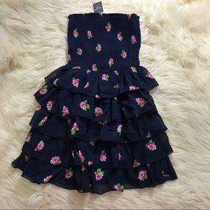 ❗️Abercrombie & Fitch floral chiffon layer dress❗️
