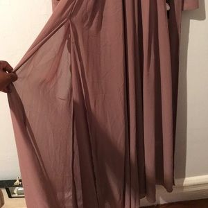 naked wadrobe Dresses - Lanvin inspired maxi dress