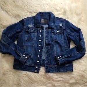 ⚡️Blank NYC distressed denim jacket