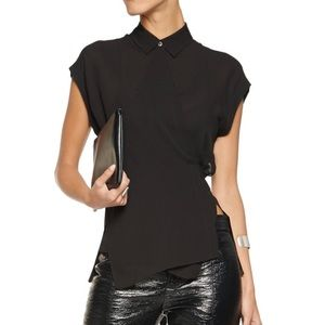 Brand New T by Alexander Wang Wrap Blouse
