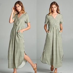 Dresses & Skirts - Karen Stripe Maxi Dress