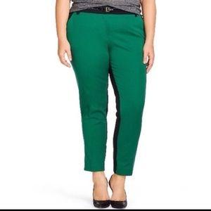 Ava & Viv Denim - Ava & Viv Color Block Ankle Pants 26w