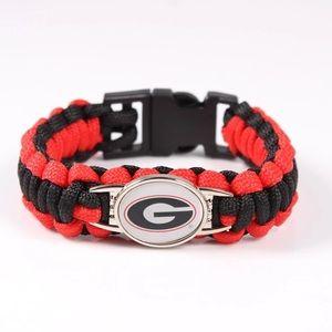 Other - Georgia Bulldogs Paracord Bracelet