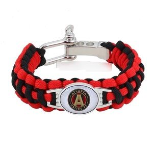 Other - Atlanta United FC Soccer Paracord Bracelet