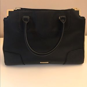 Rebecca Minkoff Black Large Leather Crossbody bag