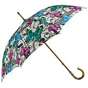 I S O 🤓COACH BUTTERFLY PRINT UMBRELLA _LOOKING 🤓