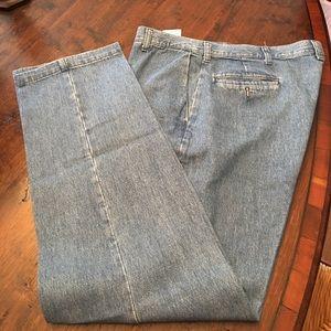 NWOT lee dress denim jeans size 36x32