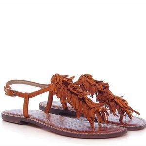 Sam Edelman Gela Saddle Suede Size 8 1/2