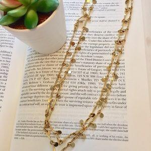 J. Crew Jewelry - J. Crew • Gold Layering Necklace