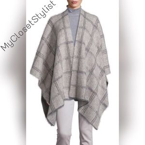 Eileen Fisher Accessories - Eileen Fisher Project NWT $400 Alpaca Wrap Poncho!