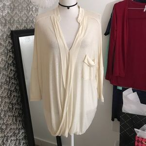 mono B Tops - Ivory long sleeve top