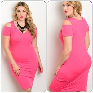 Pink Women's Size Dress