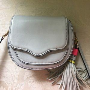 Rebecca Minkoff Handbags - Rebecca Minkoff Cross body blue saddle bag