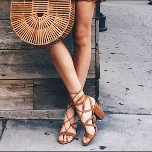 SCHUTZ Shoes - Schultz lace up block heels