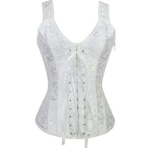 Other - White Corset - Victorian Steampunk or Renaissance