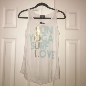 Tops - Sun Yoga Surf Love Tank