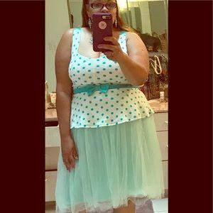 C'est Ca New York Dresses & Skirts - Clair Mint Green Semi Puffy Tulle skirt