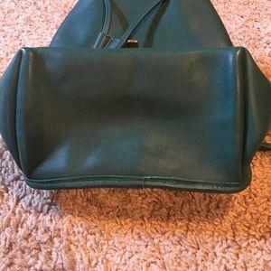 d43634a7bbd0e Coach Bags - Emerald Green Vintage Coach backpack purse