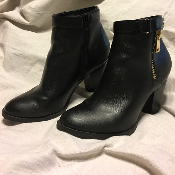 Shoes | Kohls Apt9 Black Boots | Poshmark