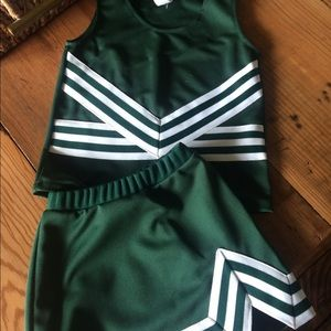 Cheer Uniform Dark Green NEW!