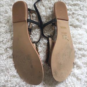 Derimod Shoes - Derimod gold sandals