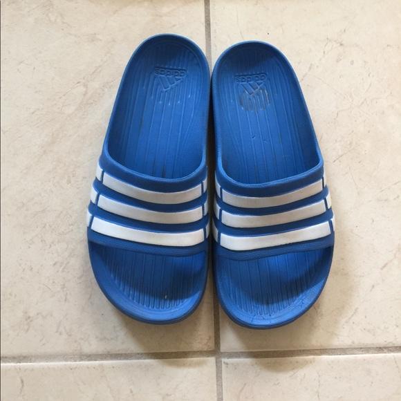 b271ac5aec1 adidas Other - Boys slip on Adidas flip flops