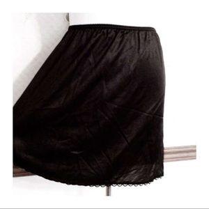 Vintage Other - Va Va Va Voom! Mini Half Slip, Black, S/M, Vintage