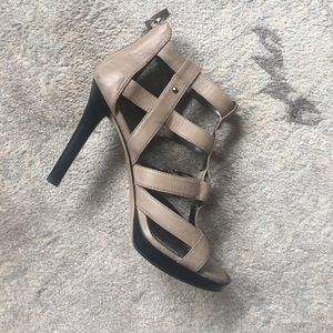Nine West bootie sandal heels. 8M