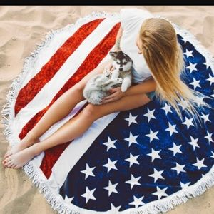 urapis Other - 4th of July Beach Towel