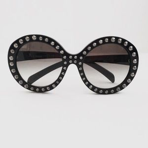 Prada Accessories - NEW Prada Studded Round Sunglasses