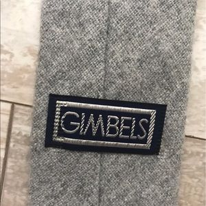 VTG 80's GIMBELS Wool Tie
