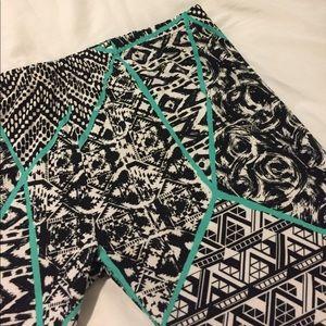 Pants - Fun Patterned Leggings/Activewear
