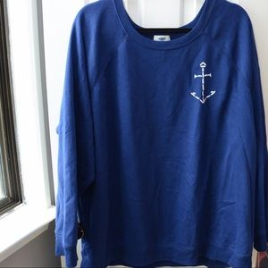 Sweaters - Sweater with anchor detail